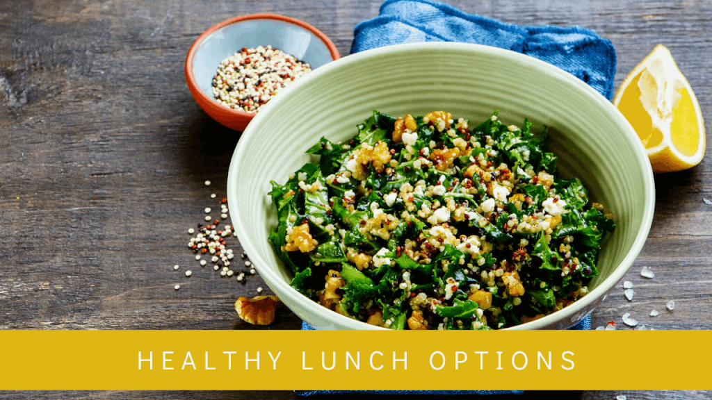 Dr. Jodi Larry 5 Day Meal Plan - Healthy Lunch Options
